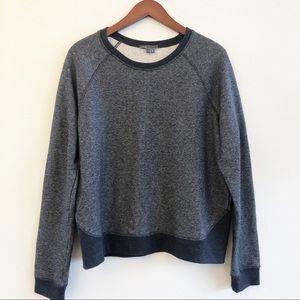 VINCE Crewneck Sweatshirt in Denim Blue SZ L